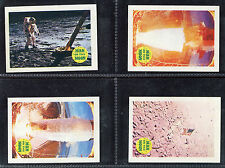 """A & BC GUM 1969 """"MAN ON THE MOON - TEXT BACK""""  TRADE CARDS - PICK YOUR CARD"""