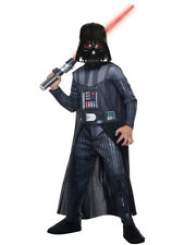 Child's Boys Darth Vader Star Wars Jumpsuit With Mask and Cape Costume