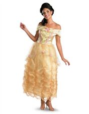 Womens Deluxe Beauty And The Beast Disney Princess Belle Costume