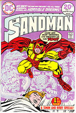 SANDMAN #1 *RARE PURPLE VARIANT* comic book JACK KIRBY DC Comics 1974 VFNM (9.0)