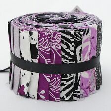 100% COTTON US FABRIC PALLETTE CRAFT & QUILTING  JELLY ROLL CITY BUNDLE