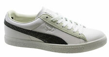 Puma Clyde X Undefeated Snakeskin Mens Trainers White Leather Lace 353917 03 U8