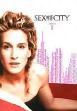 Sex and the City: The Complete First Season (DVD, 2010, 2-Disc Set) WORLD SHIP