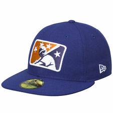 New Era Durham Bulls Royal Logo Reverse Fitted Hat - MiLB