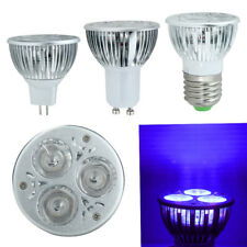 3W 3x1w E27/GU10/MR16 UV Ultraviolet Purple Light LED Bulb Lamp 85-265V/12V