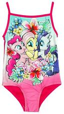 Girls Official My Little Pony Besties Swimming Costume MLP Swimsuit 2 to 6 Years