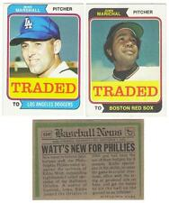 1974 Topps Traded Baseball Set ** Pick Your Team **