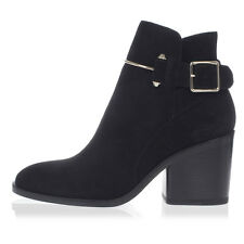 BALENCIAGA woman New Black Suede Ankle Boots Made in Italy