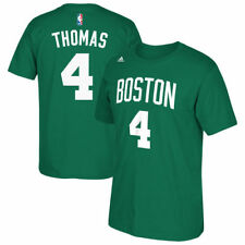 adidas Isaiah Thomas Boston Celtics Kelly Green Net Number T-Shirt - NBA