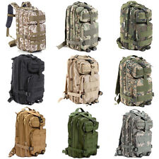 New Hiking Camping Bag Army Military Backpack Tactical Trekking Rucksack Camo