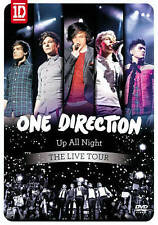 One Direction: Up All Night - The Live Tour (DVD, 2012) WORLD SHIP AVAIL
