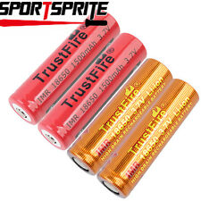 TrustFire IMR18650 3.7V 1500mAh Rechargeable Li-ion Sharp&Flat Battery Cell