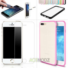 Shockproof Hybrid Bumper Frame Case Cover Screen Protector for iPhone 7/7 Plus +
