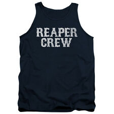 Sons Of Anarchy Reaper Crew Mens Tank Top Shirt Navy