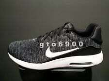 Nike Air Max Modern Flyknit Men Black White Running Shoes 876066-002