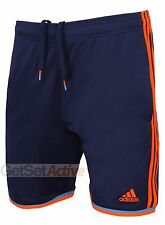 adidas Mens XSE Navy climalite 8 Inch Woven Training Shorts Gym Soccer Running