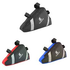 Outdoor Bike Bicycle Cycling Frame Front Tube Triangle Bag Pouch Quick Release