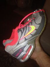 Nike Max Air Torch 4 Womens Size 8 Workout Running Shoes Pink Neon Tennis Gray