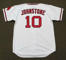JAY JOHNSTONE California Angels 1970 Majestic Cooperstown Home Baseball Jersey