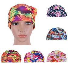 Adult Child Colorful Swim Cap Flexible Durable Elasticity Swimming Hat Cap New