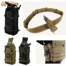1000D Tactical Hunting Molle Magazine Mag Pouch Flashlight Holster Tools Bag