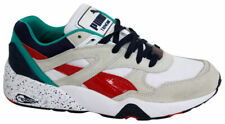 Puma Trinomic R698 Sports Mens Trainers Running Shoes White 360030 03 U117