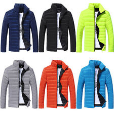New Fashion Men's Warm Hoodie Coat Parka Winter Coat Outwear Down Spring Jacket