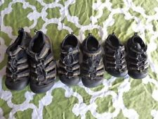 KEEN H2 Boys Black Brown 8 (toddler) 11 or 3 (big boy) Toggle Sport Water Sandal