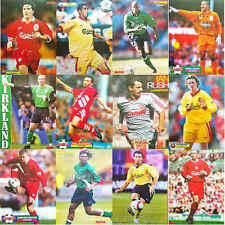 MATCH football magazine retro player A4 picture poster Liverpool Lot 3 - VARIOUS