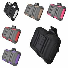 Advanced Armor Hybrid Stand Holster Case Cover For Apple iPod Touch 4th Gen