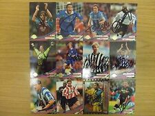 AUTOGRAPHED TOPPS PREMIER GOLD 2000 CARDS:  CHOOSE FROM THE LIST: FREE UK P&P !!