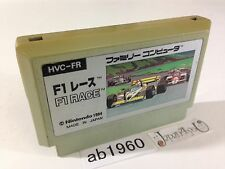 ab1960 F1 Race NES Famicom Japan J4U