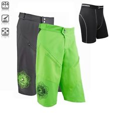 Tenn Mens Breeze MTB/Off Road 3/4 Length Shorts + Coolflo Boxers Combo