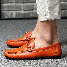 Comfy Mens Leather Loafer  Casual New Slip on Leisure Moccasins Driving Shoes