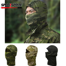 Camouflage Hunting Scarf Cap Balaclava Winter Hat Full Face Mask Hood Quick-Dry