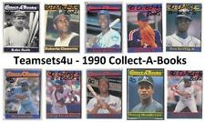 1990 Collect-A-Books Baseball Set ** Pick Your Team **