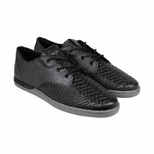 Creative Recreation Vito Lo Mens Black Grey Textile Lace Up Sneakers Shoes