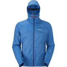 Montane Lite Speed Mens Jacket Windproof - Electric Blue All Sizes
