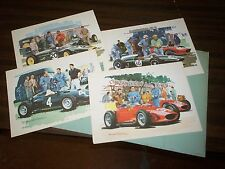 Motor Portfolio of Cars Grand Prix 1960 Ferrari Dino 246 Michael Turner TEW031