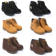 Kids Lace Up Desert Boots Toddlers Shoes Winter Boot Ankle Boot Brown Black Tan