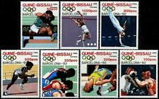 GUINEA BISSAU Sc.# 849-55 MINT NH Olympics Stamp Set