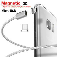 2.4A Micro USB Charging Cable Magnetic Adapter Charger for Samsung For Android