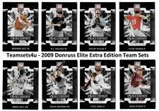 2009 Donruss Elite Extra Edition Baseball Set ** Pick your Team **
