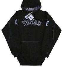 Texas Rangers Majestic MLB Big & Tall Catcher's Box Pullover Hoodie - Black -NWT