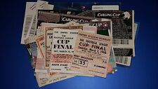 League Cup Final Tickets 1968-2016 (UPDATED)