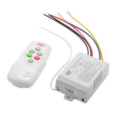 Wireless ON/OFF 2/3/4 Ways 220V Lamp Receiver Transmitter Remote Control Switch