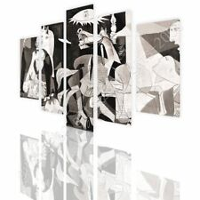 CANVAS (Rolled) Guernica Pablo Picasso 5 Panels Wall Art Pictures Wall Decor