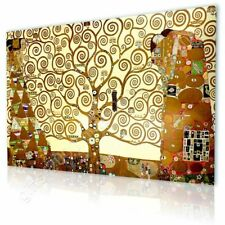 CANVAS (Rolled) Tree Of Life Yellow Gustav Klimt Canvas For Home Decor Art