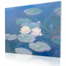 CANVAS (Rolled) Water Lilies Claude Monet Oil Paints Painting Art