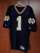 NOTRE DAME UNIVERSITY JERSEY COLLEGE FOOTBALL NCAA CHAMPION SIZE 40